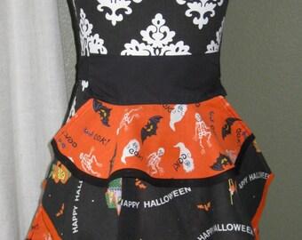 Girls Halloween Apron