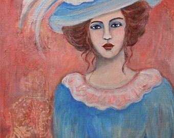 Isabella - Original Portrait Painting