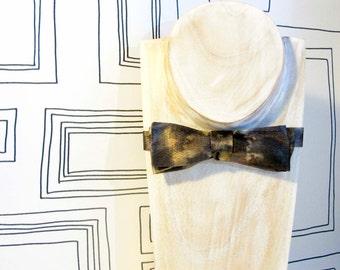 Turner watercolour mist slim batwing bow tie, Valentine's bowtie