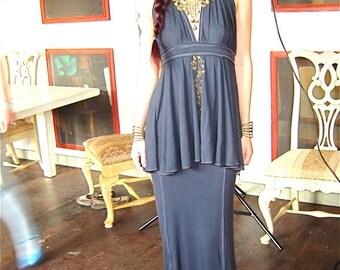 Jaia Maxi Pencil Skirt, Flared Mermaid Hem, Custom Color / Elegant, Formal, Casual, Classy, Lounge