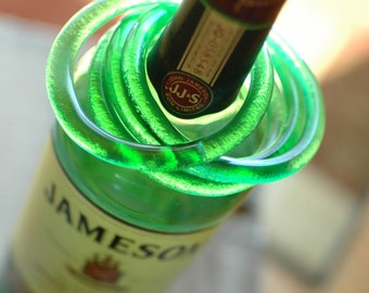 Jameson Irish Whiskey Bangle | Upcycled Glass Bottle Bracelet