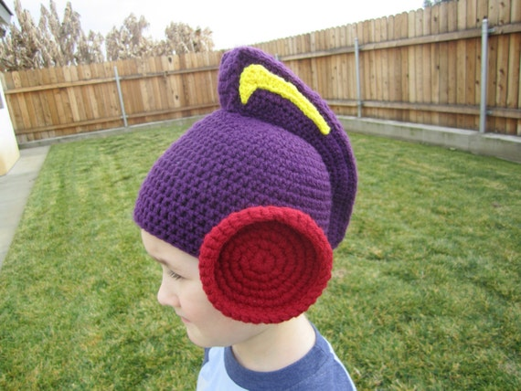 Crochet Boy Hat Patterns Pattern Larryboy Crocheted Hat