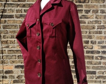 Standard Issue Scout Jacket- Plum