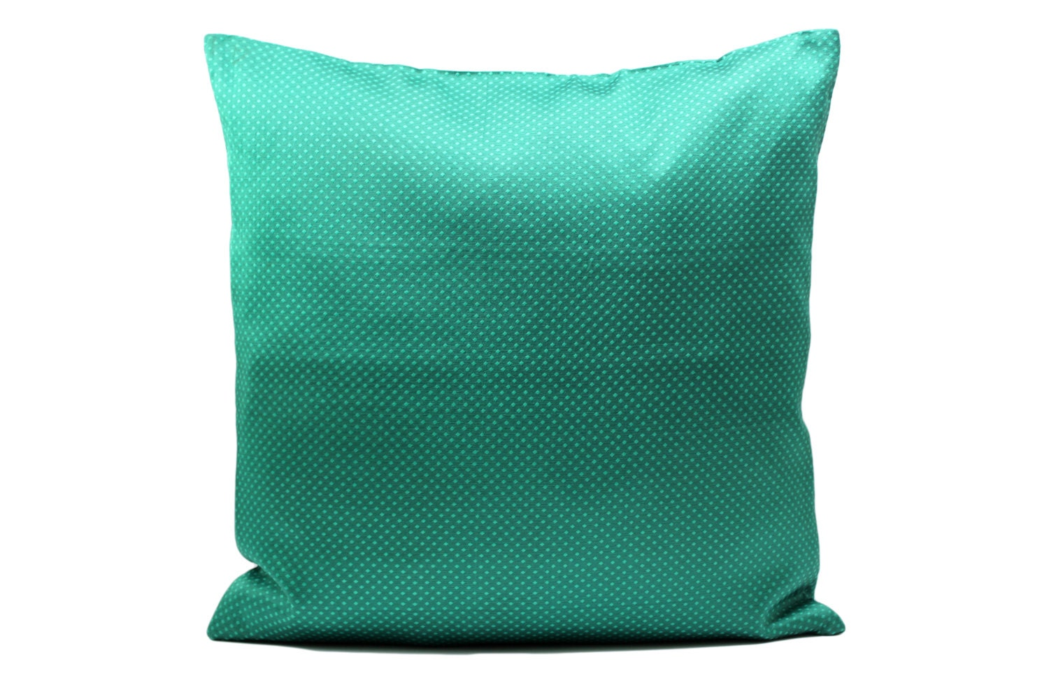 Mint Green Pillow coverDecorative throw Pillow Cover by Fabricasia