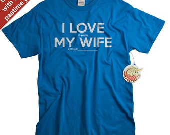 Cotton Anniversary Gifts for Him - Funny Custom Tshirt for Husband - 1st Year 2nd Year Cotton Gifts - 100% Cotton T Shirt
