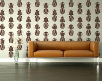 Retro Wall Decor pineapple wall decor | etsy