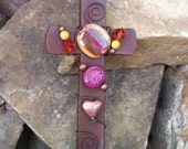 Rustic Craftsman Style Wall Cross