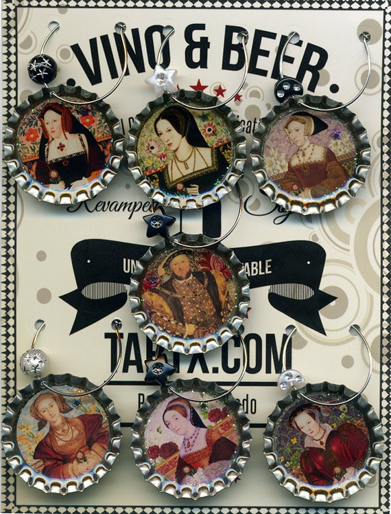 The Tudors King Henry VIII and his Six Wives Drink Charms