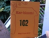 Kerbloom zine about house buying