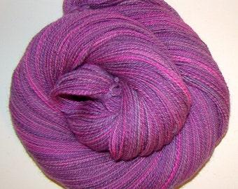 We Could Have Danced All Night - Handdyed/Handspun Falkland Wool Yarn 370yds