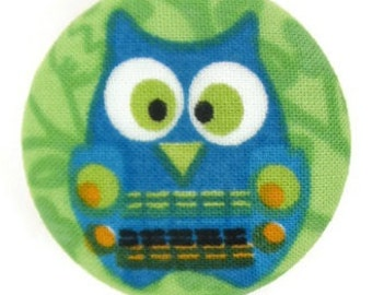 Fabric Covered Retractable Badge Reel
