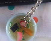 Kawaii Filofax charm bling jewelry Ramen bowl