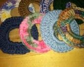 Set Of 8 Hair Scrunchie