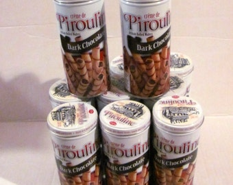11 Pirouline Empty Tins
