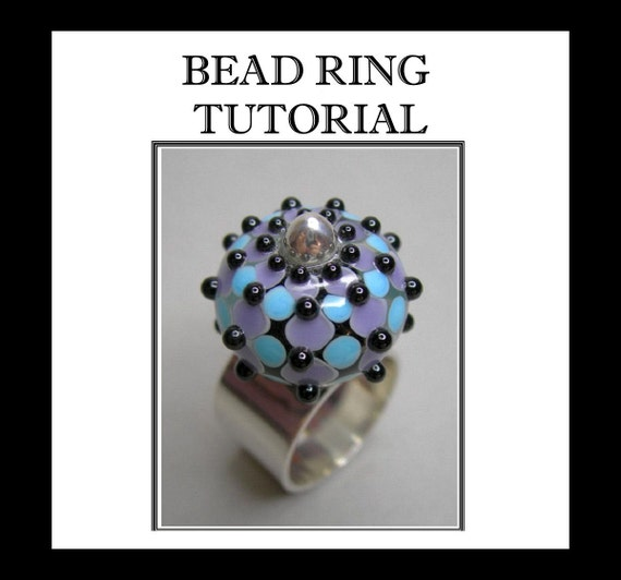 Bead Ring Tutorial, Jewelry Tutorial, Silver Ring Tutorial