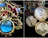 Wear the Rainbow - Vintage Coro Locket Necklace