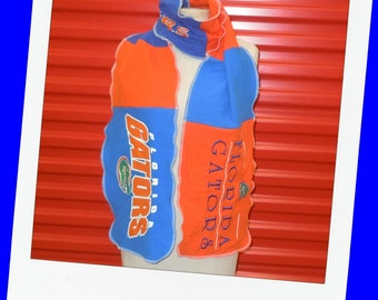Football Scarf Recycled Tshirts Unisex Great gift Florida