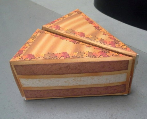 Etsy Cake Favor Boxes : Items similar to party favor cake boxes on etsy