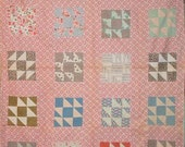 60 X 50  8 Inch squares Quilt Top