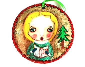 Christmas in July, Carol singer, tree decoration, Christmas, Xmas