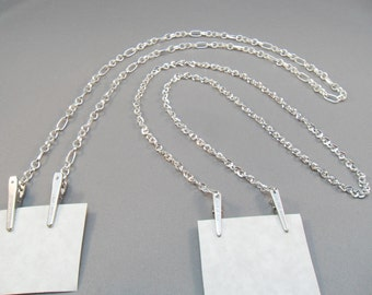 Eyeglass CHAIN for Reading or Sun Glasses - plain and simple