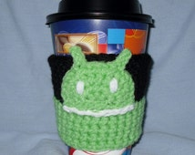 Android Coffee Cozy for take-out cups