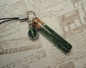 ZOMBIE BLOOD Vial Charm - Handmade Charm from My Bead Garden