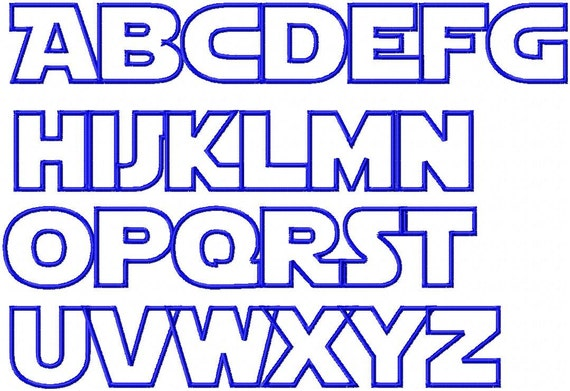 Star Wars font - 87 free fonts that will make you feel ...