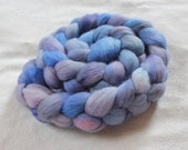 "Corriedale Roving in ""Thunderhead"""