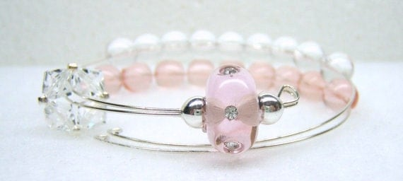 Ballerina Row Counter Bracelet for Knitting or Crochet