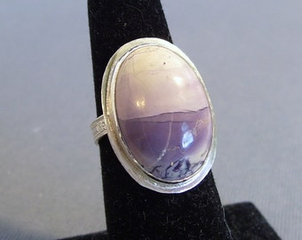 Tiffany Stone and Sterling Silver Ring - Modern, Feminine, OOAK