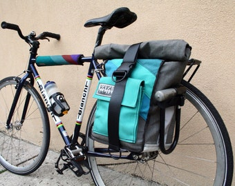 Teal Appeal Pannier/Backpack Hybrid