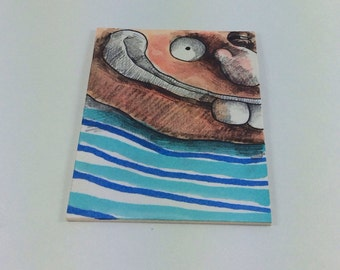 Original ACEO Drawing by Aaron Butcher
