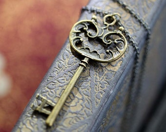 Bronze Key Necklace 6