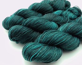 Moonlight Kisses - Hand Dyed Yarn - Dyed to Order