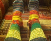 Stripey Socks Ladies' size 8-9