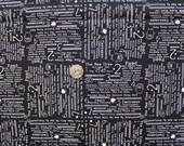 Moda, Sweetwater, Boo Crew,  The Bash Black Fabric - Half Yard