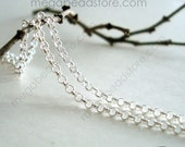 5 ft 925 Sterling Silver Rolo Cable Chain Loose Chain 1.5mm Ch75
