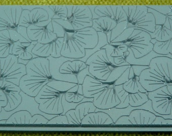 GINGKO BILOBA  Texture Rubber Stamp TTL-610