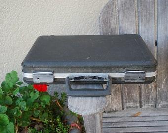 Vintage Oshkosh Briefcase Hard Shell