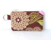 Change Purse in Amy Butler's Lacework with Key Ring