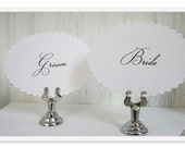 Table Number Stand, Silver Sign Holder, Wedding Table Number Holder, Card Holder, Table Decor