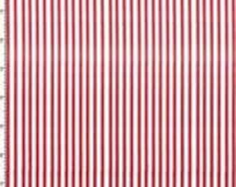 Lazy Stripe - Red - Fabric From Loralie Designs - 9.75 Per Yard