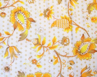 Vintage Cotton Fabric by J Manes Co Inc - Angelique Pattern