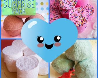 Bath Bomb Blooper Surprise Pack - Bath Bombs, Bath Fizzy, Blooper, Sale, Disounted, Surprise Bath Bombs, Clearance, Try It, Samples, Vegan