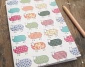 Sheep Pattern Notebook