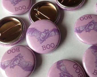 Boo Bat Pin