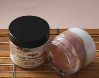 Whipped Soap Chocolate Creamcheese Cupcake 2 oz Creme Fraiche Trial Sample Size VEGAN