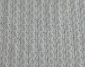 pattern for knitted twisted cable lap robe apx 32 x 32