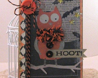 Hoot - Card and Envelope